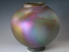 Matt Flash Lustre Vase